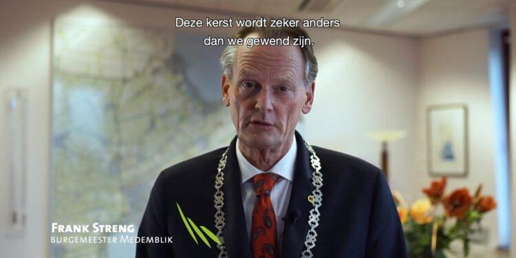Burgemeester Streng: 'Het wordt beter in het nieuwe jaar'