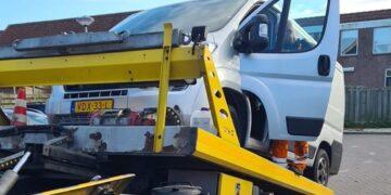 In Hoogkarspel gestolen invalidebus dankzij social media snel teruggevonden