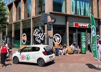 Supermarkt SPAR city komt met inpandige The Tosti Club naar de binnenstad van Hoorn