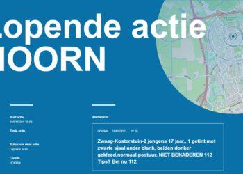 Grootschalige inzet politie en helikopter naar tieners in Zwaag (update)