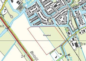 Molenblik in Medemblik nieuwe wijk met ongeveer 200 woningen