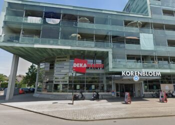 Supermarkt aan de Korenbloem in Zwaag tijdelijk dicht door muizenoverlast
