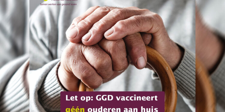 GGD HN waarschuwt voor bellende fraudeurs; 'Wij vaccineren geen ouderen aan huis'