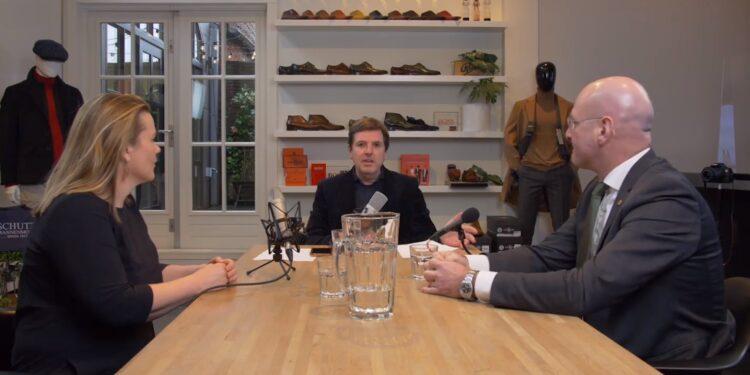 Peptalk met ondernemer en burgemeester; Creatief ondernemen [video]