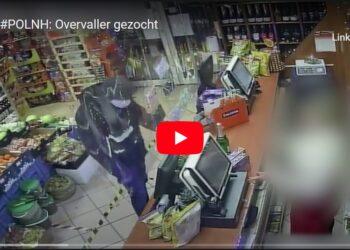 Politie deelt beelden recente overval supermarkt inHoorn [video]
