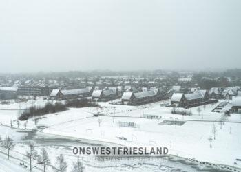Westfriesland geniet van winterse sferen; Overzicht foto's en video's