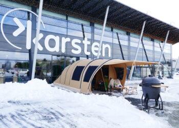 Winkels weer open voor click & Collect; Bij Karsten vanuit de tent