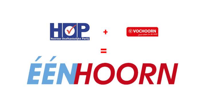 Fusie Hoornse politiek; VOCHoorn en HOP samen verder als ÉénHoorn