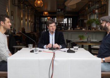 Peptalk 3; Ondernemers Rob van der Molen en Daniël Drommel