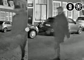 Mogelijke verdachten op beeld van explosie bij woning Gerritsland in Hoorn