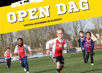 Open dag voor de jeugd bij v.v. de Blokkers