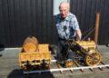 Stoommachinemuseum Medemblik blij met schenking schaalmodel Rocket