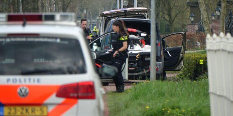 Vier aanhoudingen na melding 'conflict met vuurwapen' bij woning Wognum