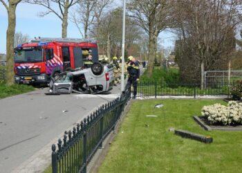 Bestuurder brommobiel zwaargewond na ongeval in Westwoud
