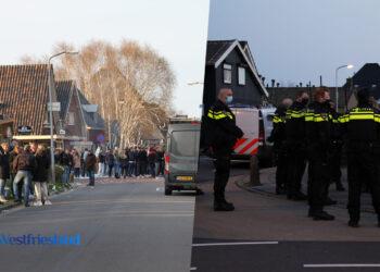 Politie beëindigt kersmisstraatfeest De Goorn; 'Helaas was inzet van de politie nodig'
