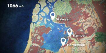 Archeologische ontwikkeling van het IJsselmeergebied