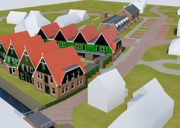 Woningbouwplan in Abbekerk; Totaal 13 woningen en 24 appartementen