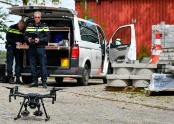 Politie droneteam ingezet in Ursem; 'in gesprek met jongeren'