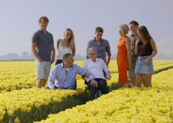 Schaatsfamilie (Irene en Simon) Schouten op TV: 'Het leven gaat niet altijd over tulpen'