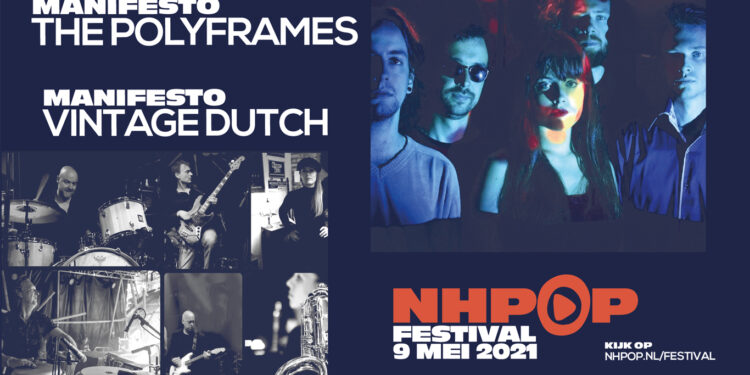 NH-Pop Festival; Thuis live kijken naar optredens vanuit regionale poppodia