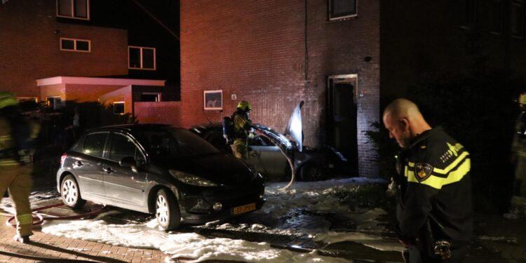 Schade aan woning na autobrand in Obdam