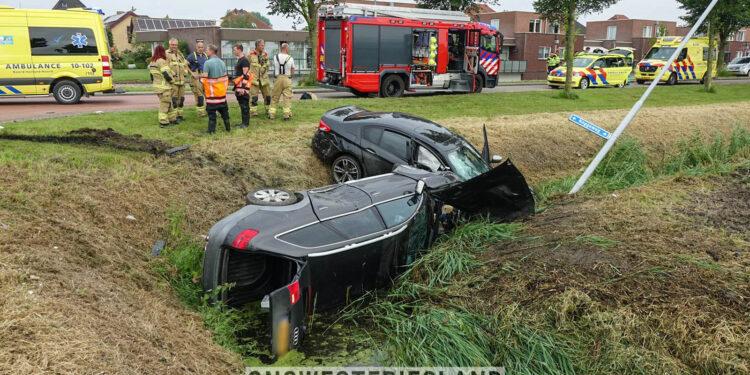 Twee gewonden waarvan een ernstig bij ongeval Koggeweg in Hem