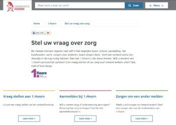 Gemeente Hoorn: 'Storing bij aanvragen via www.hoorn.nl'