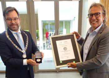 Gemeentelijke Erepenning Dirk te Grotenhuis; 'grote en langdurige inzet voor de gemeente en haar inwoners'