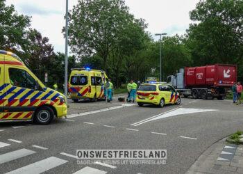 Kinderen ernstig gewond bij aanrijding IJsselweg in Hoorn
