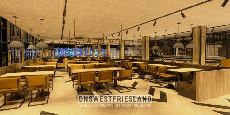 Franky's opent in oktober derde vestiging in voormalige Bowling Hoorn in de Huesmolen