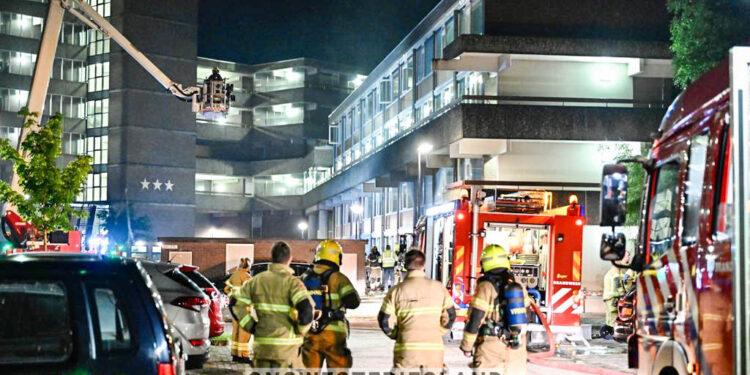 Grote explosie in flat in Hoorn; 40 woningen ontruimd (update)