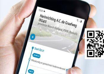 Updates werkzaamheden AC de Graafweg en PWN via App