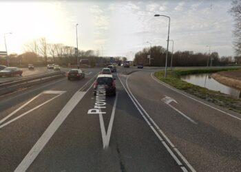 Turborotonde Provincialweg vanaf 10 september zes weekenden geheel afgesloten