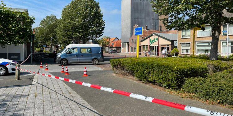 Traumahelikopter geland in Spanbroek voor aanrijding met fietser