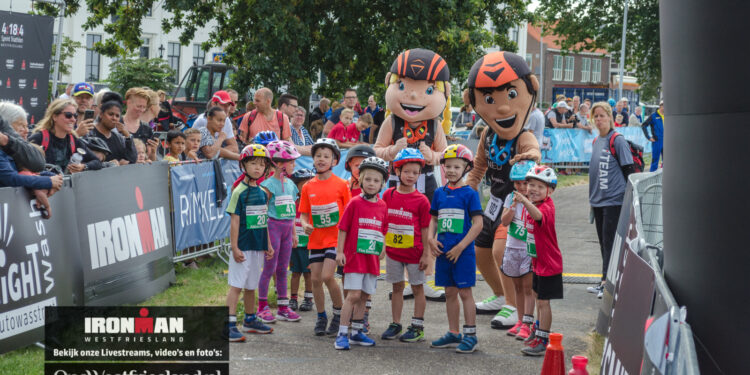 IRONKIDS Westfriesland daagt kinderen uit in run-bike-run of minitriathlon