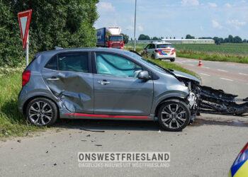 Twee gewonden bij ongeval beruchte kruising Andijk