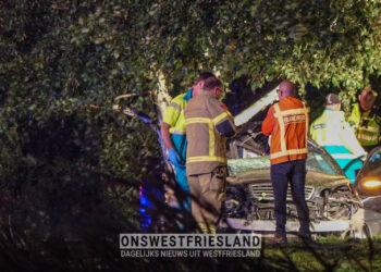 Man (45) uit Andijk overleden bij eenzijdig ongeval