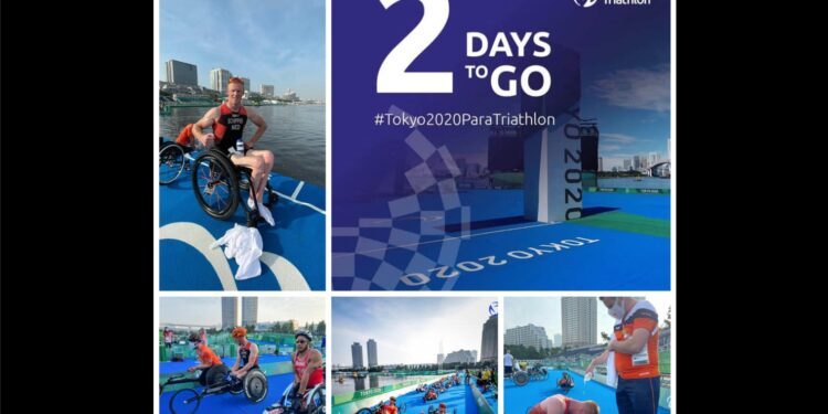 Geert Schipper telt af naar Paralympische triatlon in Tokio; Countdown 2