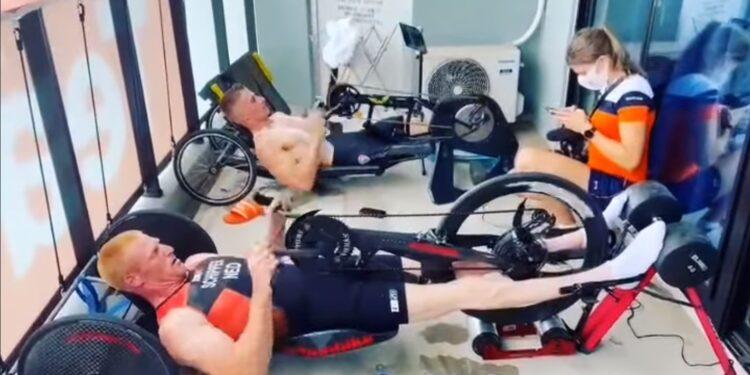 Geert Schipper telt af naar Paralympische triatlon in Tokio; Countdown 4