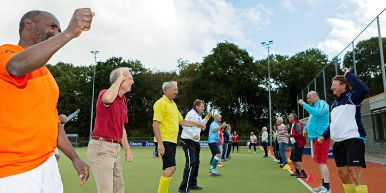 OldStars walking sports van start in Medemblik