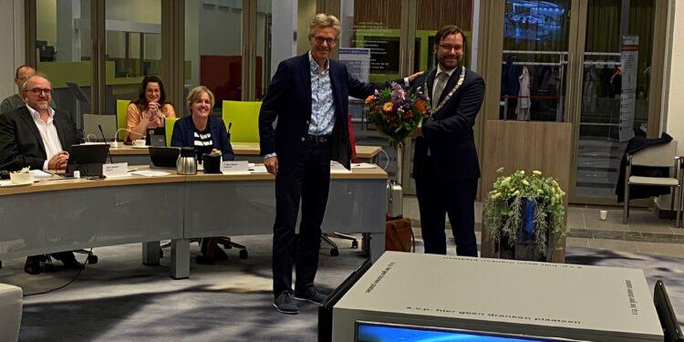 Herbenoeming burgemeester Michiel Pijl voor volgende 6 jaar