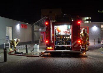 Brandje bij slagerij in Enkhuizen