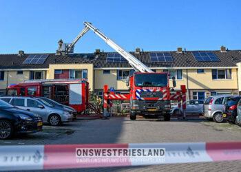 Rook woningbrand Grootebroek zorgt voor overlast op N307 (update)