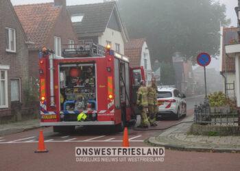 Droger in brand in woning Grootebroek