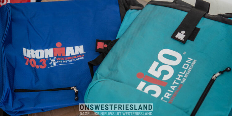 Ironman Westfriesland 2021: Foto's vooraf bij start, wisselzone en finish
