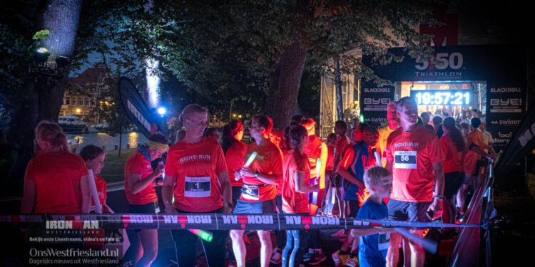 Ironman Westfriesland 2021: Nightrun [fotos]