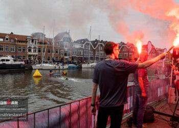 Ironman Westfriesland 2021: Start en zwemmen 4:18:4 en 5150 [39 foto's]