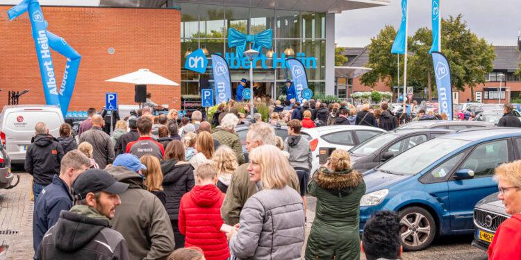 Albert Heijn opende vandaag in Kersenboogerd; donderdag in Bangert Oosterpolder