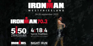 Ironman Westfriesland in cijfers; Zondag 1193 deelnemers waarvan 44% uit buitenland