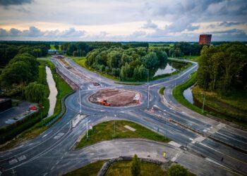 Hoorn: 'Betere spreiding verkeer volgend weekend bij afsluiting turborotonde'